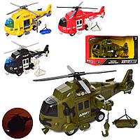 Гелікоптер AS-2171 АвтоСвіт, інерц., 1:16, 4 види, муз., світло, бат. (таб.), кор., 32-19-12 см.