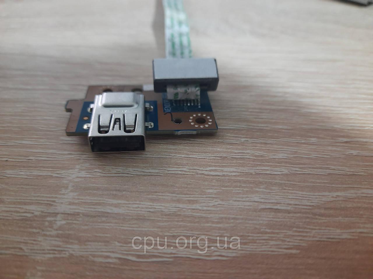 Плата / Разъем USB USB board 075PM1  Dell Latitude 3540