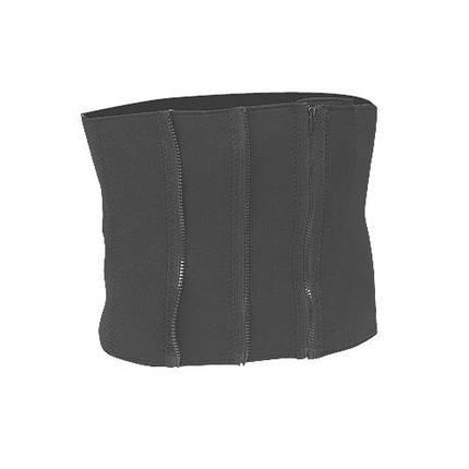 Пояс для похудения LiveUp Zipper Slim Belt 84x27.5 см Black (LS3039A), фото 2