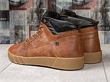 Зимние мужские ботинки 31131, Philipp Plein, рыжие, [ 43 ] р. 42-28,0см. 43, фото 2