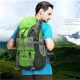 Туристический походный рюкзак 50л, зеленый, фото 6