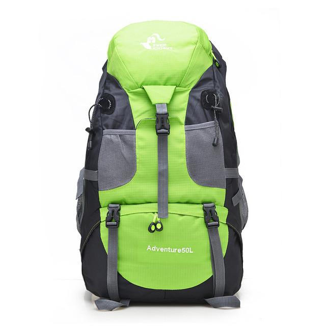 Туристический походный рюкзак 50л, зеленый
