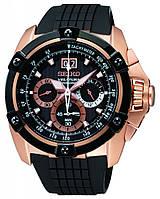 Мужские часы  Seiko SPC074P1 Velatura Rose Gold Chronograph