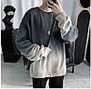 Свитшот серый (толстовка, кофта мужская женская), фото 4