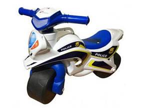 Байк Полиция Doloni-toys белый 0138/510