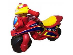 Байк Полиция Doloni-toys красный 0138/560