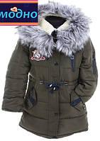 Модная детская зимняя куртка для девочки подростка