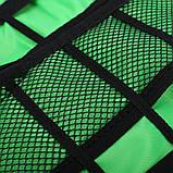Чехол, сумка - органайзер для проводов, голубой, фото 7