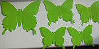 """Наклейка на стену """"12 шт. 3D бабочки наклейки пластиковые"""""""