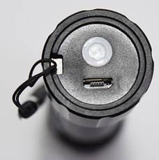 Фонарик аккумуляторный COB BL- 511 COB зарядка от Usb, фото 2