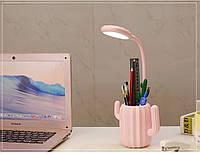 Настольная Лампа Кактус Pink, фото 1