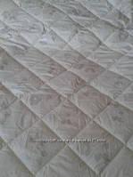 Шерстяное одеяло полуторное в тиковой наволочке ТЕП Pure Wool 150*210, фото 1