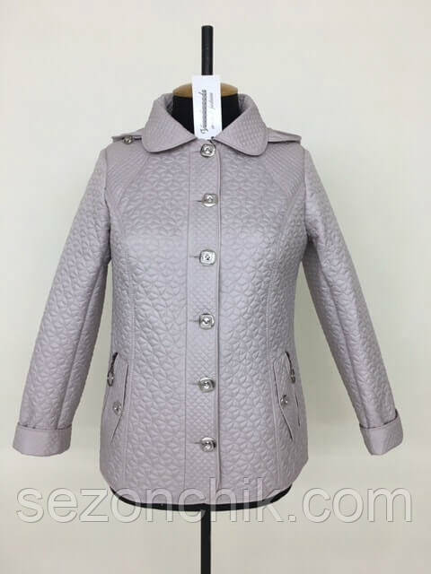 Куртка женская укорочённая на осень стильная
