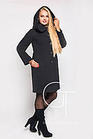 Зимнее пальто с рукавом реглан  Letta