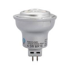 LED лампа MR16 (GU5.3) 4,5W (250 Lm) 2800K 12V AC/DC Viribright (Вирибрайт)