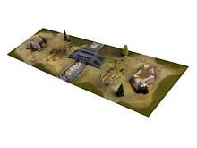 Діорама VSTANK для танкового бою 58х180см