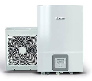 "Тепловий насос Bosch Compress 3000 AWES 6 ""повітря-вода"" 7 кВт з електричним догревателем (8738203006)"