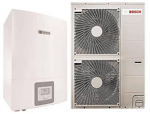 "Тепловий насос Bosch Compress 3000 AWES 15 ""повітря-вода"" 15 кВт, електричний догревателем (8738203008)"