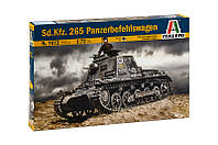 Sd. Kfz..265 Panzerbefehlswagen. Сборная модель германского танка в масштабе 1/72. ITALERI 7072