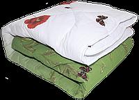 Шерстяное одеяло евроразмер ТЕП Шик в бязевой наволочке , фото 1
