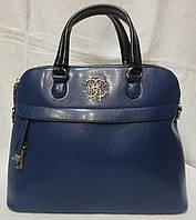 Модная женская сумка. синий