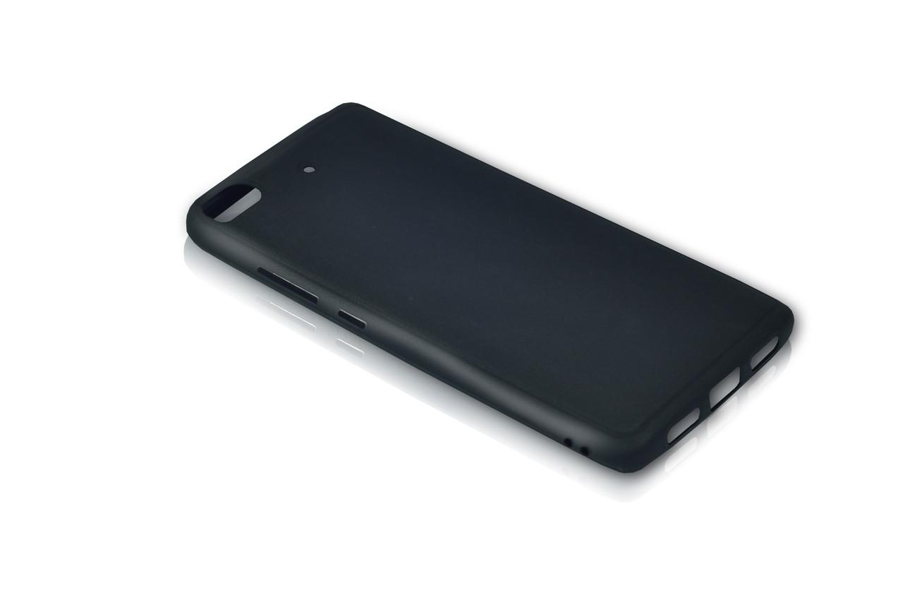 Чехол Meizu M6s Silicon Cover Soft touch Black