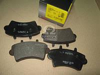 Колодка тормоза RENAULT MASTER передн. ( Bosch), 0 986 494 031