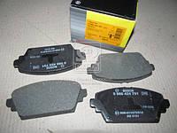 Торм колодки дисковые ( Bosch), 0 986 424 791