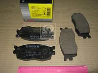 Колодка тормоза HYUNDAI ACCENT, KIA RIO II передн. ( Bosch), 0 986 494 139