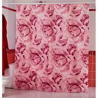 Шторка у ванную Roses 001112
