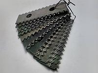 Комплект ножей (бичи) для зернодробилки Млын Ок, ДТЗ, Беларусь