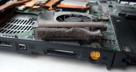 чистка ноутбука
