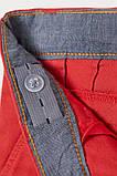Классные детские брюки в стиле чинос с отворотами на штанинах для мальчика HM (поштучно), фото 2