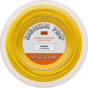 Теннисные струны Signum Pro Twister 200 м Желтые (350)