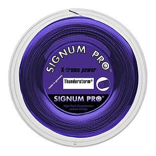 Теннисные струны Signum Pro Thunderstorm 200 м Фиолетовые (1748)