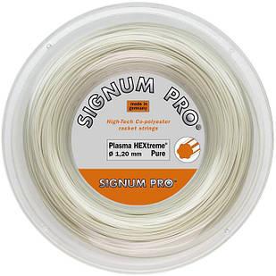 Теннисные струны Signum Pro Plasma HEXtreme Pure 200 м Белый (3293)
