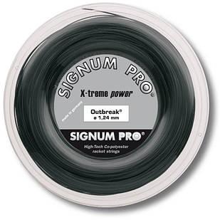 Теннисные струны Signum Pro Outbreak 200 м Черные (5253)