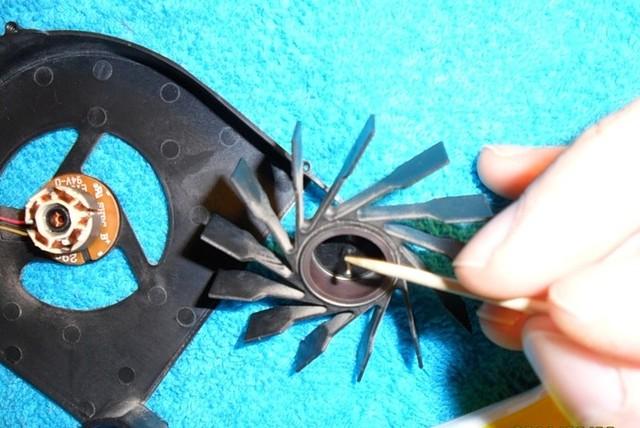 смазка кулера ноутбука