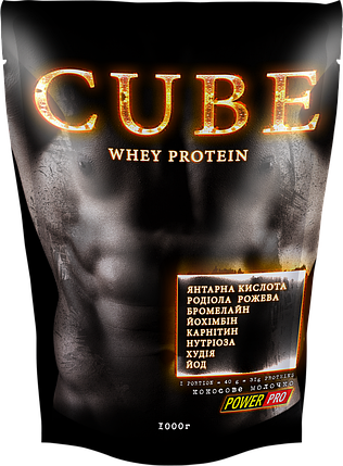 Протеїн Power Pro CUBE 1 кг, фото 2