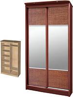 Шкаф-купе Сказка №1 (2х-дверное зеркальное)
