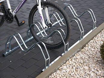 Велопарковка на 6 велосипедов Smile-6 Польша