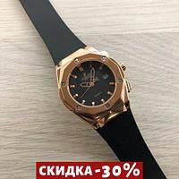 Мужские наручные часы Big Bang Small 888788 Gold-Black