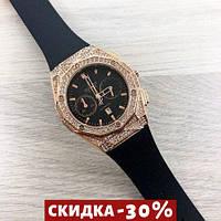 Мужские наручные часы Big Bang Diamonds 882888A Gold-Black