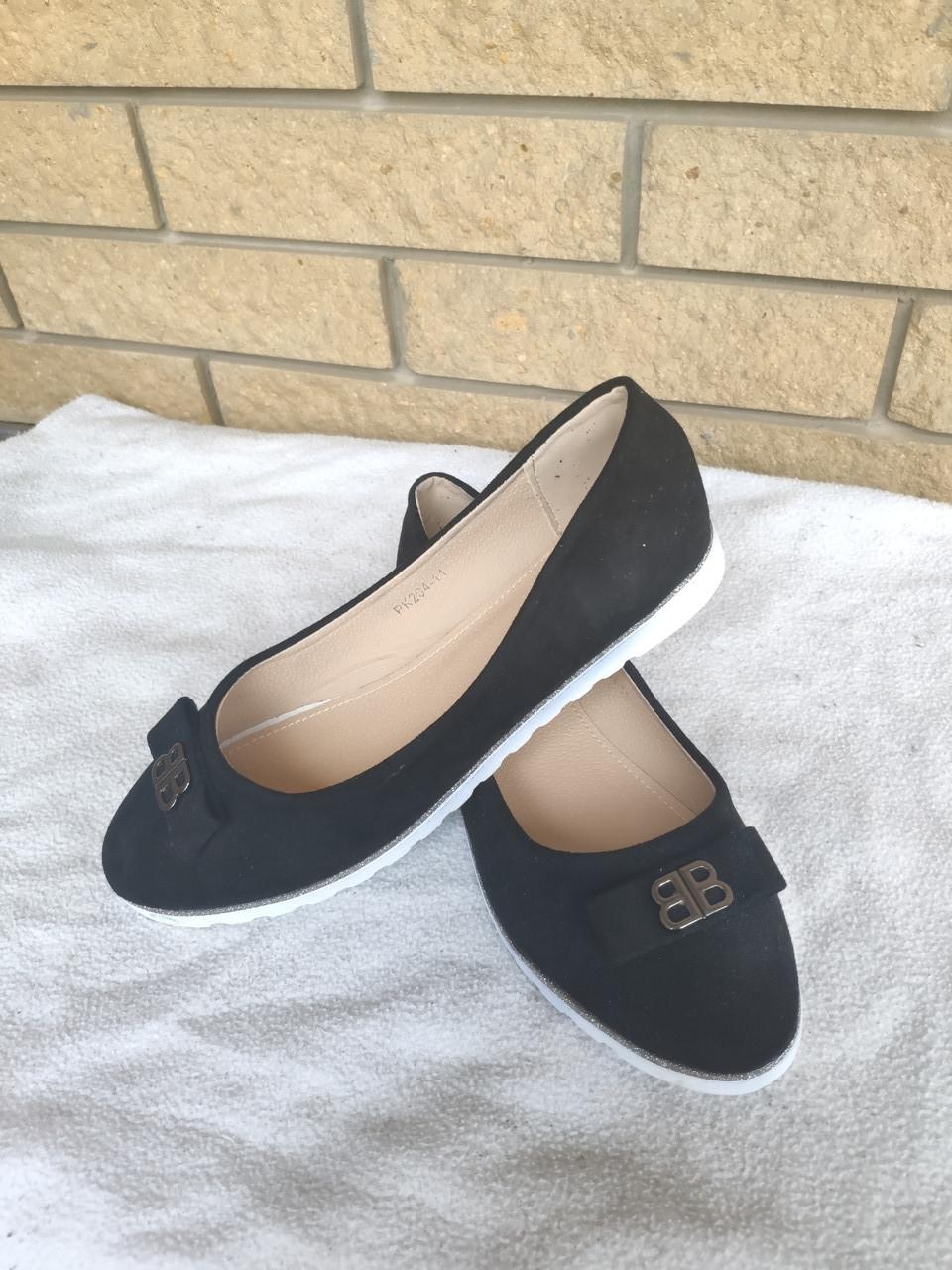 Балетки, туфли, эспадрильи женские больших размеров на широкую ногу BOMBA