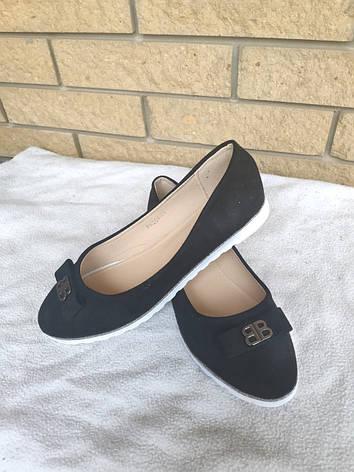 Балетки, туфли, эспадрильи женские больших размеров на широкую ногу BOMBA, фото 2