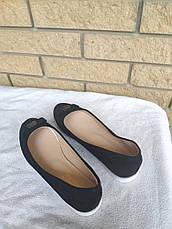 Балетки, туфли, эспадрильи женские больших размеров на широкую ногу BOMBA, фото 3