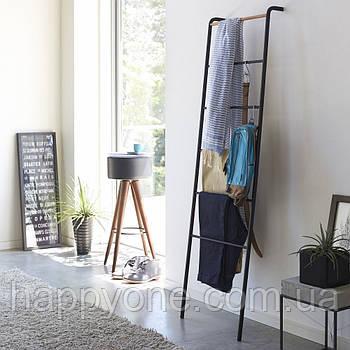 Металлическая (вешалка-лестница) стойка для полотенец и пледов Yamazaki
