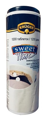 Заменитель сахара Sweet Time Kruger 1200 таблеток