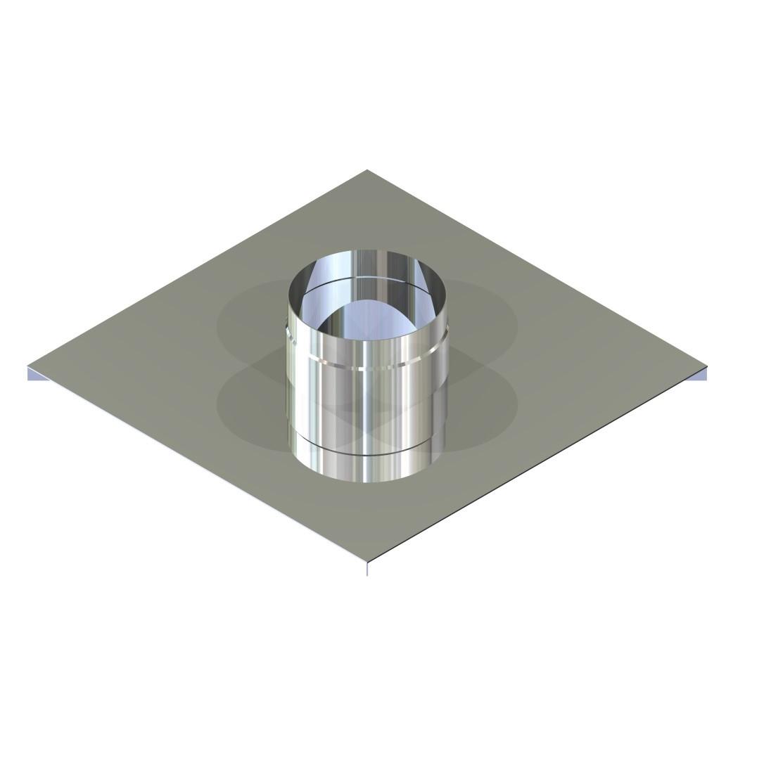 Закінчення для димоходу нержавіюча сталь D-130 мм товщина 0,6 мм
