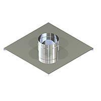 Закінчення для димоходу нержавіюча сталь D-400 мм товщина 0,6 мм, фото 1